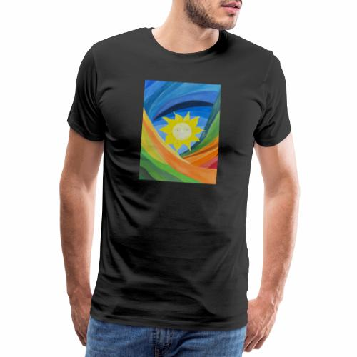 lachende-sonne - Männer Premium T-Shirt