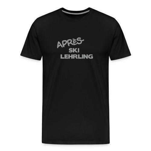 Après Ski Lehrling, Winter Shirt - Männer Premium T-Shirt