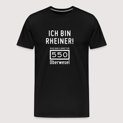 Ich bin Rheiner - Männer Premium T-Shirt