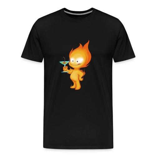 feu cocktail2 - T-shirt Premium Homme