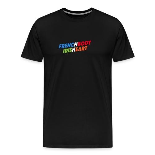 IRISHEART FRENCH - T-shirt Premium Homme