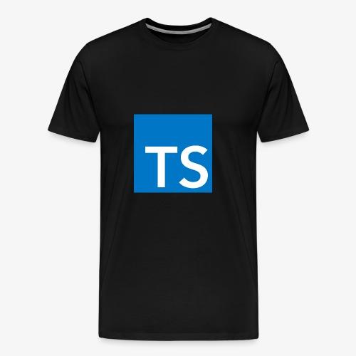 TypeScript Logo - Men's Premium T-Shirt