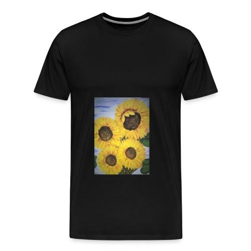 SonnenblumeIMG 20180815 090758 - Männer Premium T-Shirt