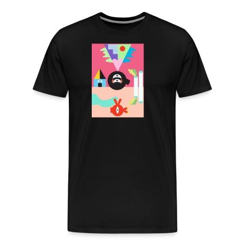 Sun and Moon - Men's Premium T-Shirt