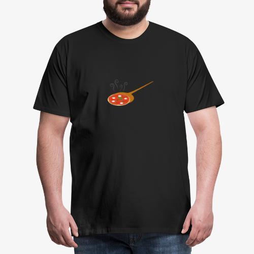 pizza chaude - T-shirt Premium Homme