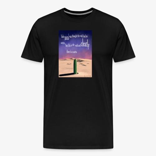 Surreal cactus - Men's Premium T-Shirt