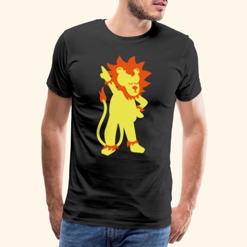 Partylöwe - Männer Premium T-Shirt