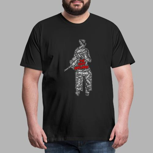 The Night Watchman - Men's Premium T-Shirt