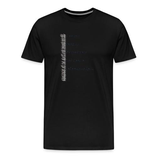 5 Tenets Taekwondo Kid's Hoodie 2 - Men's Premium T-Shirt