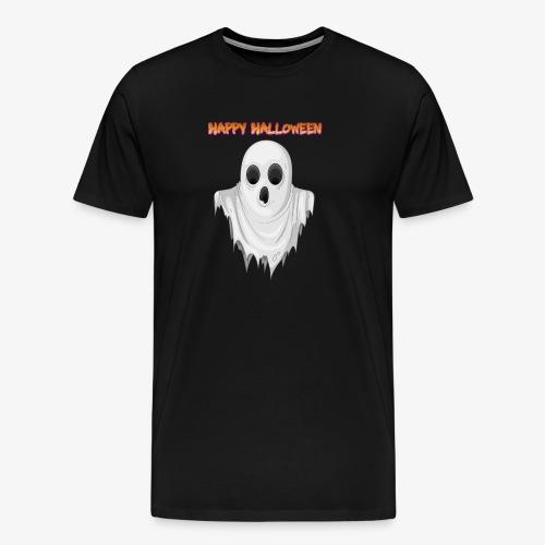 HAPPY HALLOWEEN GHOST DESIGN - Men's Premium T-Shirt