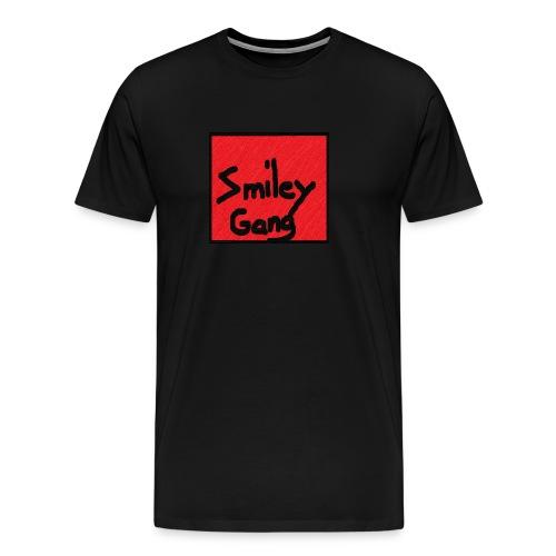 Smileygang - Premium T-skjorte for menn