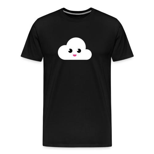 Cloudy - Männer Premium T-Shirt