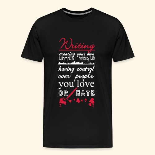 Writing - Men's Premium T-Shirt