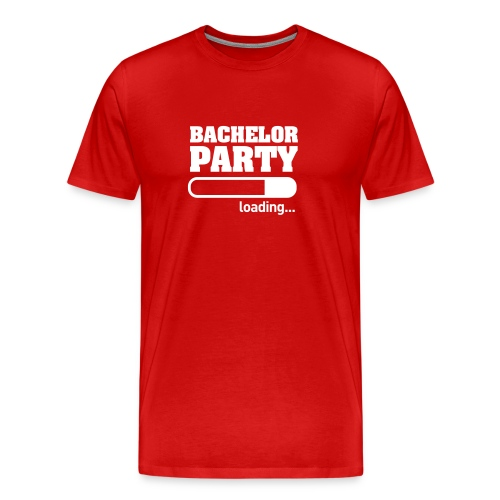 Bachelor Party Loading - Mannen Premium T-shirt