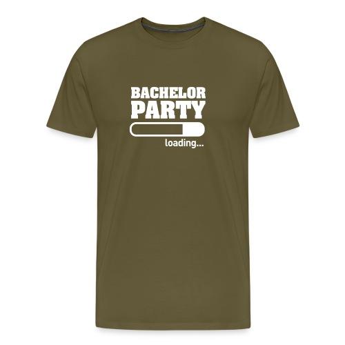 Bachelor Party Loading - Mannen Premium T-shirt