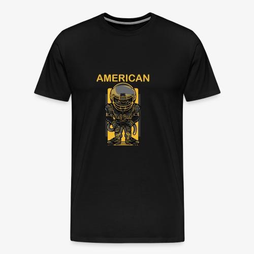 American - Camiseta premium hombre