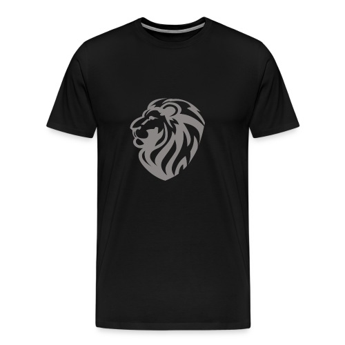 Lion grey - T-shirt Premium Homme