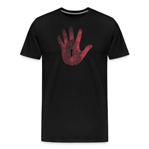 Red hand - Men's Premium T-Shirt