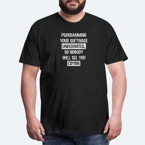 Programming Software Geschenk für Informatiker - Männer Premium T-Shirt