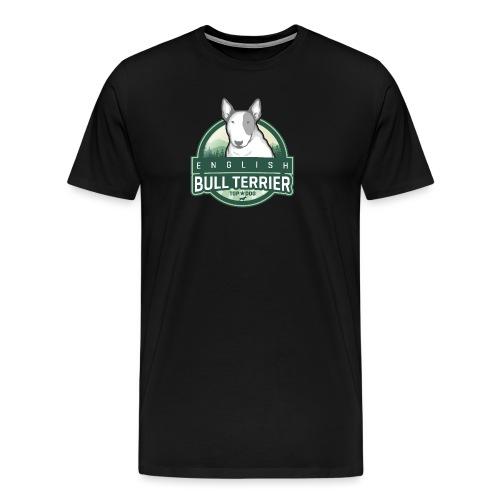 English Bull Terrier FOREST - Männer Premium T-Shirt