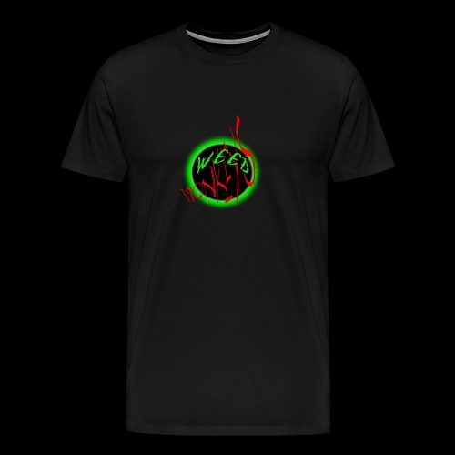 Weed Monkeys Logo - Men's Premium T-Shirt
