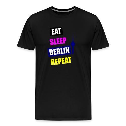 EAT SLEEP BERLIN SPECIAL - Männer Premium T-Shirt