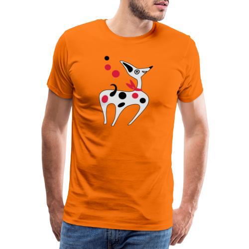 Cane Cucciolo divertente - Maglietta Premium da uomo