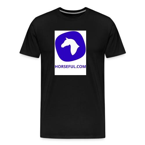 Horseful.com - Logo - Männer Premium T-Shirt
