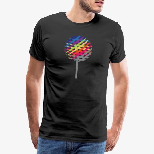 Albero Arcobaleno - Maglietta Premium da uomo