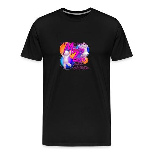 Composition1LogoMZ - T-shirt Premium Homme