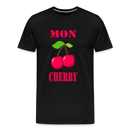 Kirsche Mon Cherry - Männer Premium T-Shirt