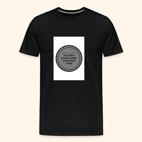 So is life s journey - Men's Premium T-Shirt