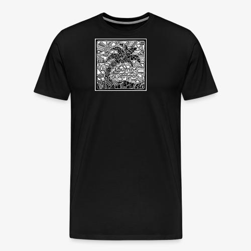 BT palmu - Miesten premium t-paita