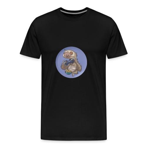 SlothGamer Channel Logo - Men's Premium T-Shirt