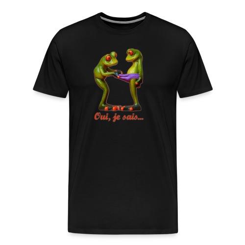 Grenouilles - T-shirt Premium Homme