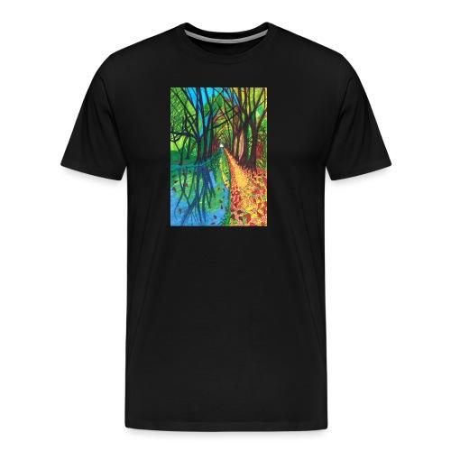 Canal Walk - Men's Premium T-Shirt