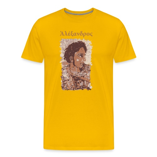 Alexander the Great - Aléxandros ho Mégas - Men's Premium T-Shirt