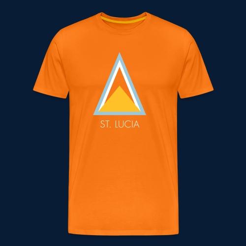St. Lucia - Männer Premium T-Shirt