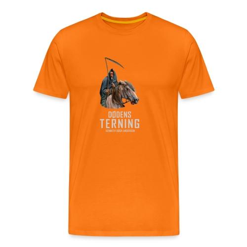 T shirt Dødens terning - Herre premium T-shirt