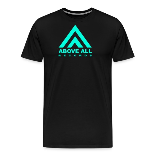 Above All Records Logo - Men's Premium T-Shirt