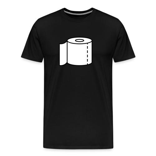 Klopapier für den Notfall - Männer Premium T-Shirt