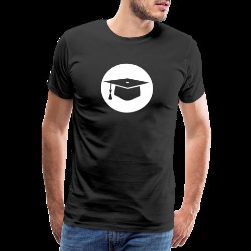 Doktorhut Kreis Geschenkidee Promotion Examen - Männer Premium T-Shirt