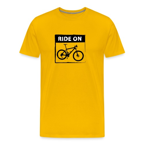 Ride On MTB - 2C - Männer Premium T-Shirt