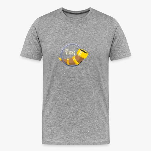 Very Viking Horn - Herre premium T-shirt