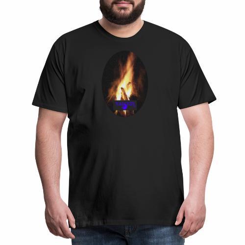 VALCON Lagerfeuer - Männer Premium T-Shirt