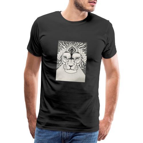 MandalArt Design - Lion - Mannen Premium T-shirt
