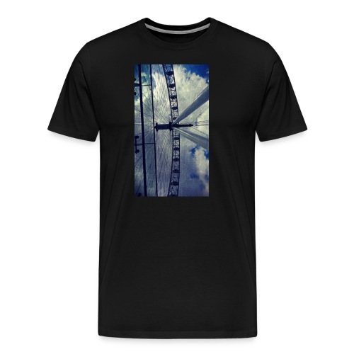 London eye Scratched - Camiseta premium hombre