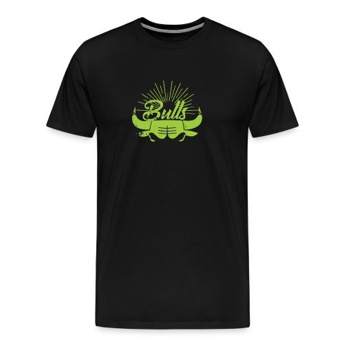Toros verdes, Bulls BasketBall deporte - Camiseta premium hombre