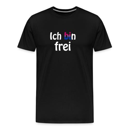 Ich bin frei - bisexuell - LGBT - Liebe - Freiheit - Männer Premium T-Shirt