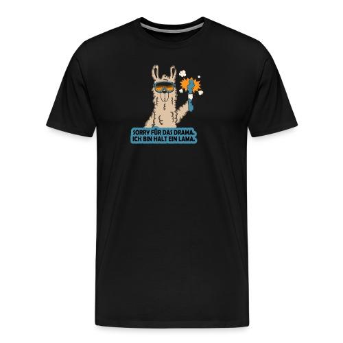 Sorry ich bin ein Lama - Männer Premium T-Shirt